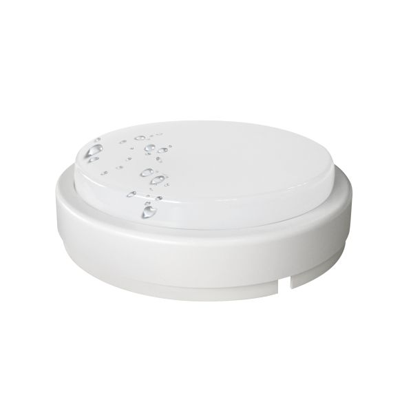 SL LED Πλαφονιέρα 8W Πλαστική IP54 SMD Στρογγυλή