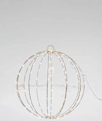 Eurolamp 144 LED Φωτιζόμενη Μπάλα 40cm