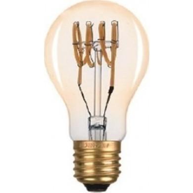 Dio LED Λάμπα 6W Spiral Filament Amber Vintage E27