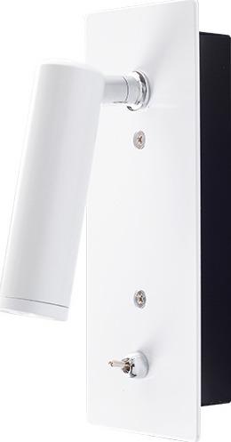ACA Επίτοιχο Φωτιστικό LED 3W Χωνευτό Μεταλλικό