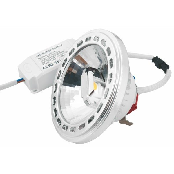 Spacelights LED Spot AR111 14W COB 220V + Driver Dimmable