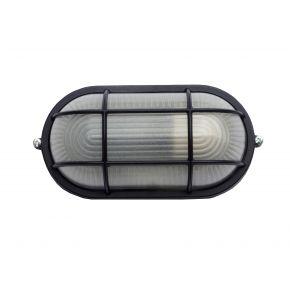 Φωτιστικό χελώνα Αλουμινίου ALT-400 BLACK 38-0003