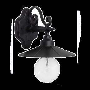 Απλίκα επιτοίχια LP-150AK-M BLACK 07-1210