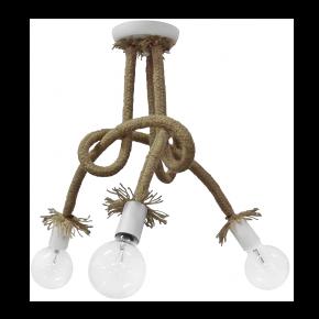 Φωτιστικό οροφής σχοινί  PLEX 3/L ROPE UT-WHITE 01-0232