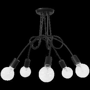 Φωτιστικό οροφής PLEX 5/L BLACK 01-0210