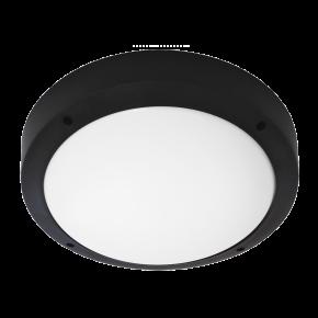 Φωτιστικό πλαφόν οροφής/τοίχου SLP-40Α BLACK 13-0086