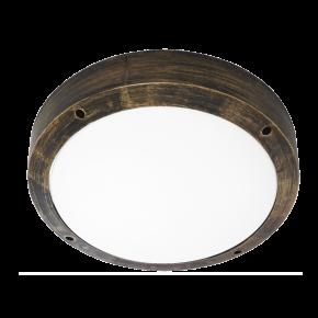 Φωτιστικό πλαφόν οροφής/τοίχου SLP-40Α BRONZE 13-0089