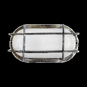 Φωτιστικό χελώνα  SLP-400  SILVER 13-0055