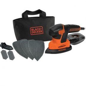 Black & Decker KA2000 Τριβείο Λεπτομερειών Mouse με 6 Εξαρτήματα
