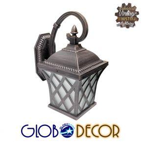 Vintage Industrial Μεταλλική Απλίκα Lelia 1XE27 Globostar