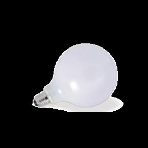 VK Λάμπα LED Filament 7W E27 G95 IP20 Globo Γαλακτερή