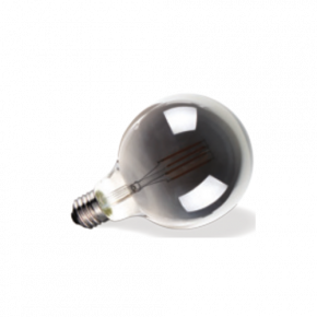 VK Λάμπα LED Filament 7W IP20 Globo G95 Ε27 Dark Grey Dimmable