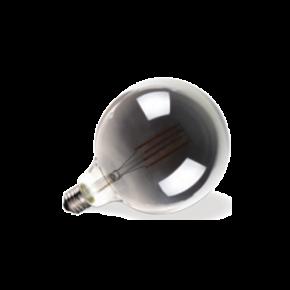 VK Λάμπα LED Filament 7W E27 G125 Globo Dark Grey Dimmable