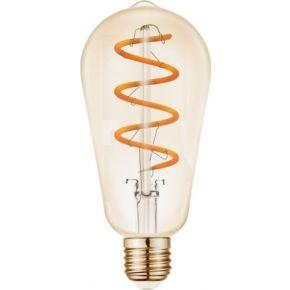VK LED Λάμπα 5W E27 Filament Spiral VK/05156