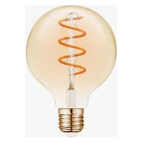 VK LED Λάμπα 5W E27 Filament Spiral VK/05157