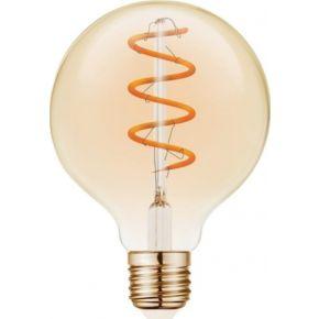 VK LED Λάμπα 5W E27 Filament Spiral VK/05159