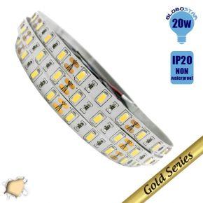 Ταινία LED 20 Watt 12 Volt Θερμό Λευκό IP20 Υπερυψηλής
