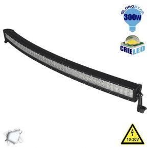 Μπάρα LED Curved 300W CREE Combo 10-30v DC Ψυχρό Λευκό