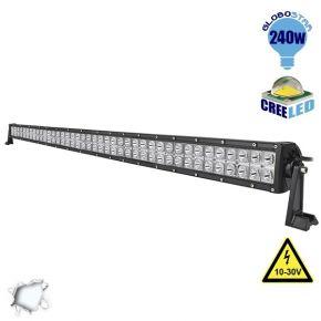 Μπάρα LED 240W CREE Combo 10-30v DC Ψυχρό Λευκό