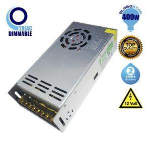 Triac LED Dimmable Τροφοδοτικό Globostar 400 Watt