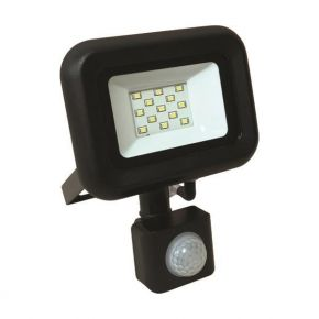 Eurolamp Προβολέας LED SMD Με Περιστρεφόμενο Ανιχνευτή Κίνησης Plus 10W IP44
