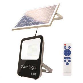 Eurolamp Προβολέας LED SMD Ηλιακός 20W IP65 DC6V