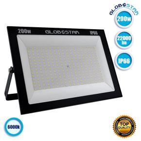 Προβολέας LED OSIRIS 200W 110LM/W 22000LM 120° Μοίρες AC85-265V BK 2 YEARS WARRANTY Αδιάβροχος IP66 Ψυχρό Λευκό 6000k GloboStar 12347