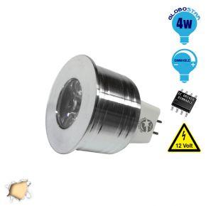 Σποτάκι LED MR11 4 Watt 10-30 Volt Θερμό Λευκό