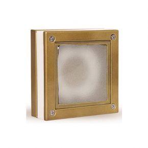 LightUp Απλίκα Αλουμινίου Τετράγωνη Διπλού Φωτισμού MLF IP64