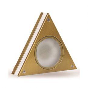 LightUp Απλίκα Αλουμινίου Τρίγωνη Διπλού Φωτισμού MLF IP64