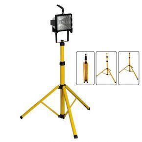 Eurolamp Βάση Τρίποδα για προβολείς LED 10W-50W 1.8m