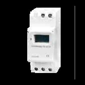 Eurolamp Χρονοδιακόπτης Ράγας 20A LED 200W (Max) Φαρδύς Ψηφιακός
