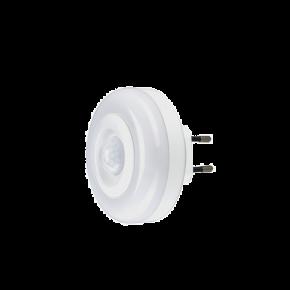 VK Φωτάκι Νυκτός 1W με Ανίχνευση Διάφανο IP20
