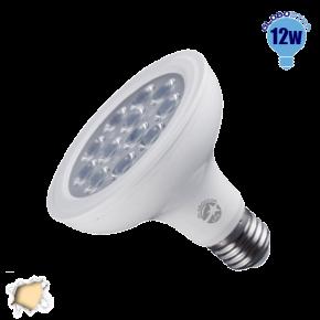 Λαμπτήρας LED E27 PAR30 Globostar 36 Μοίρες 12 Watt 230v Θερμό