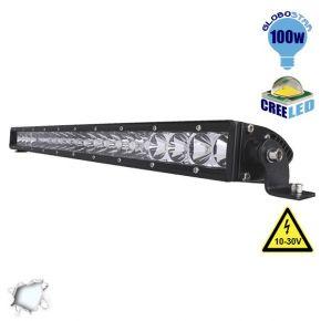 Μπάρα LED 100W CREE Combo 10-30v DC Ψυχρό Λευκό