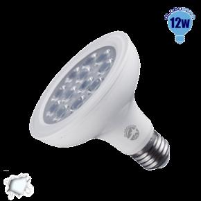 Λαμπτήρας LED E27 PAR30 Globostar 36 Μοίρες 12 Watt 230v Ψυχρό