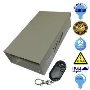 Ασύρματο Dimmable Τροφοδοτικό Globostar 400 Watt 12 Volt Rainproof IP44