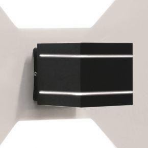 LightUp Απλίκα Τοίχου Με 2 Εξόδους Ευρείας Δέσμης IP20