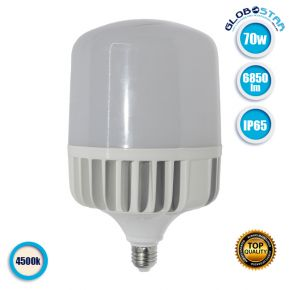 Λαμπτήρας E27 High Bay LED 70 Watt IP54 Λευκό Ημέρας 4500k GloboStar 78008
