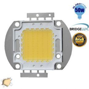 Υψηλής Ισχύος Led 50 Watt Globostar Θερμό Λευκό BRIDGELUX