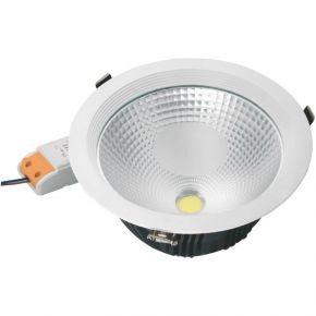 Spacelights Στρογγυλό LED Panel 40W Cob