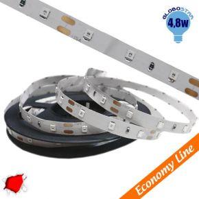 Eco Ταινία LED 4.8 Watt 12 Volt Κόκκινο IP20