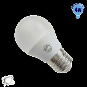 Γλομπάκι LED G45 με βάση E27 GloboStar 4 Watt 230v Ψυχρό