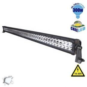 Μπάρα LED 300W CREE Combo 10-30v DC Ψυχρό Λευκό