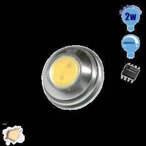 G4 1 COB LED 2 Watt 12 Volt Θερμό Λευκό