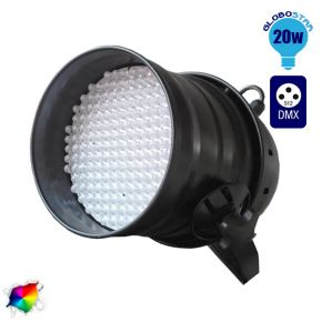 LED PAR Κεφαλή 177 LED RGB DMX 512 Black Body