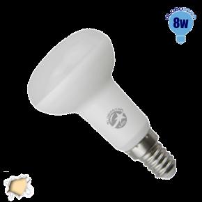 Λαμπτήρας LED R50 με Βάση E14 Globostar 8 Watt 230v Θερμό
