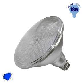 Λαμπτήρας LED PAR38 E27 18 Watt Μπλε