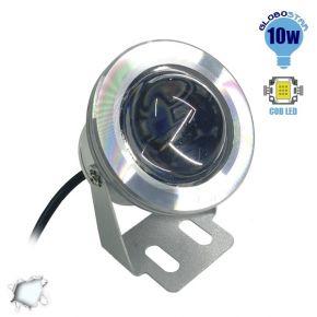 Προβολάκι 10 Watt 12 Volt DC Ψυχρό Λευκό IP65 Αδιάβροχο