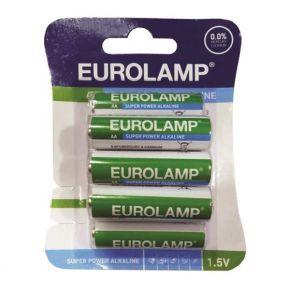 Eurolamp Μπαταρία Αλκαλική 1,5V ΑΑ LR6  8ΤΜΧ